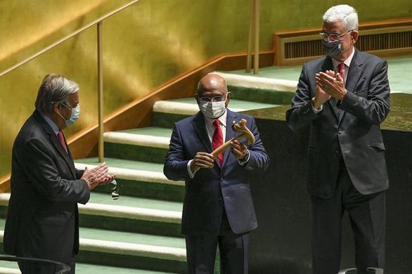 Các nhà lãnh đạo có được miễn giấy tiêm chủng khi vào họp Liên Hiệp Quốc? - Ảnh 1.