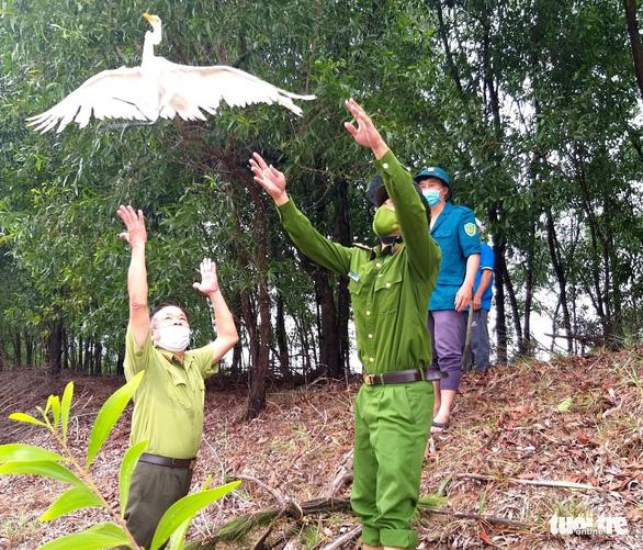 Ngăn chặn nạn săn bắt, trả lại bình yên cho đàn chim trời mùa di cư - Ảnh 4.
