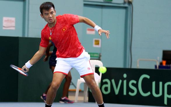 Thắng Qatar, tuyển Việt Nam vào play-off tranh thăng hạng ở Davis Cup - Ảnh 1.