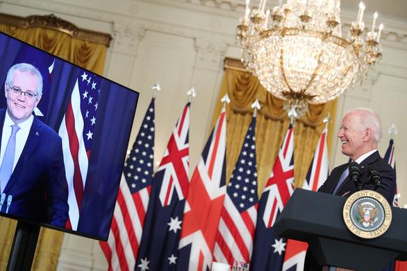 Thỏa thuận AUKUS của Mỹ, Úc, Anh có phải là liên minh chống Trung Quốc? - Ảnh 2.