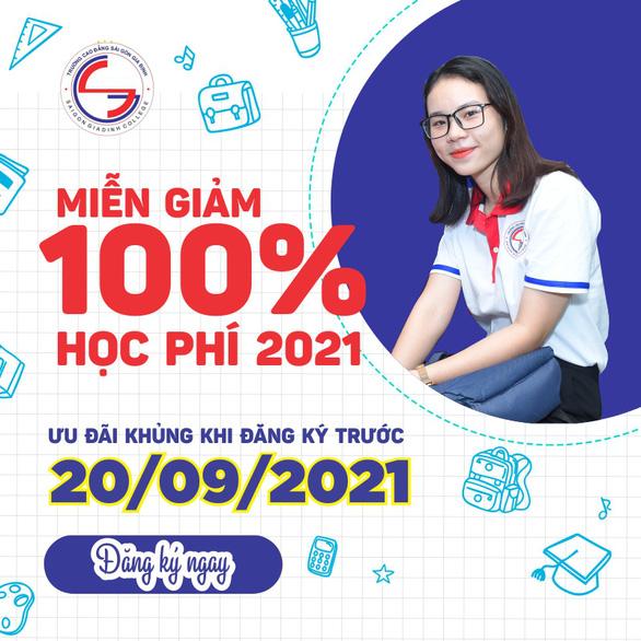 Trường Cao đẳng Sài Gòn Gia Định miễn giảm 100% học phí HK1 - Ảnh 1.