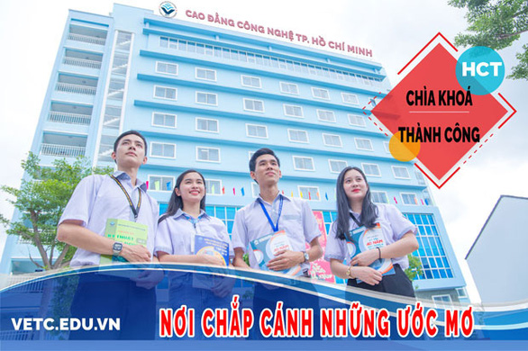 Trường Cao đẳng Công Nghệ TP.HCM thông báo xét tuyển đợt 3 - Ảnh 1.