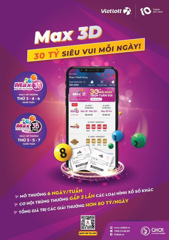 Xổ số Max 3D - cách chơi quen thuộc với người Việt Nam - Ảnh 1.