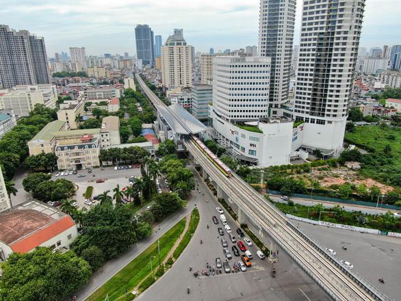Metro Nhổn - ga Hà Nội khó khai thác đoạn trên cao vào cuối năm 2021 - Ảnh 1.
