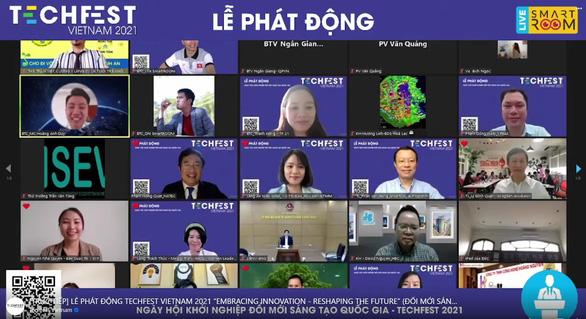 Khởi động sự kiện Techfest Việt Nam 2021 - Ảnh 1.