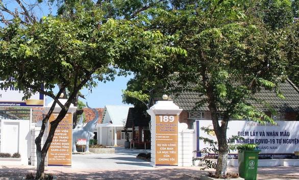 Trung tâm y khoa ở Đà Nẵng vào Quảng Nam lấy mẫu xét nghiệm khi chưa được phép - Ảnh 1.