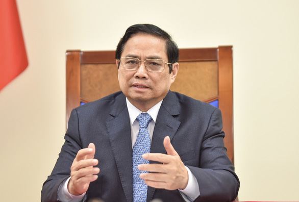 Thủ tướng Phạm Minh Chính đề nghị Áo chuyển nhượng vắc xin còn dư - Ảnh 1.