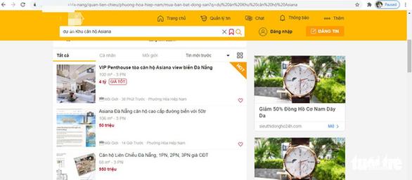 Đà Nẵng tuýt còi việc quảng cáo, rao bán căn hộ tại 2 dự án - Ảnh 2.