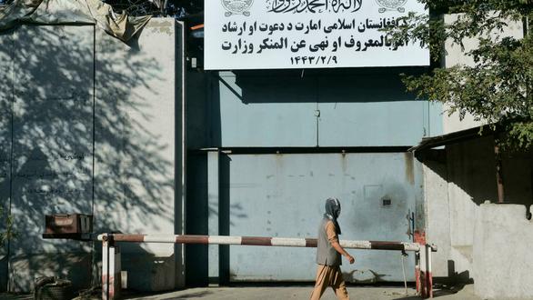 Tòa nhà Bộ Phụ nữ trở thành cơ quan cảnh sát đạo đức của Taliban - Ảnh 1.