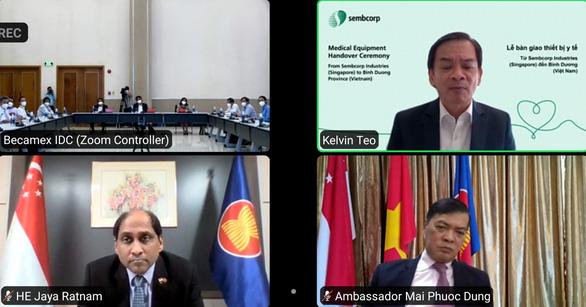 Nhà đầu tư FDI hỗ trợ Bình Dương 1 triệu đô la Singapore chống COVID-19 - Ảnh 2.