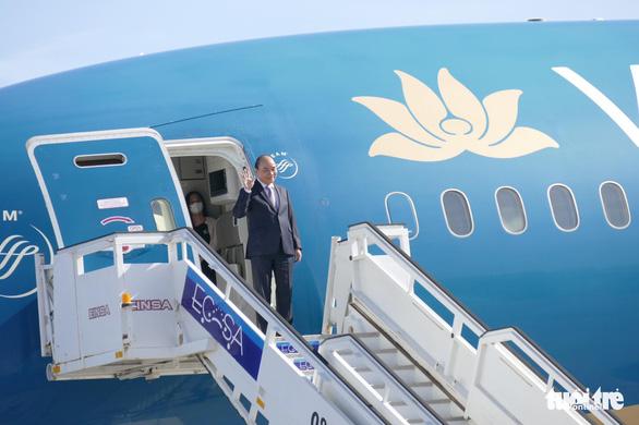 Chủ tịch nước Nguyễn Xuân Phúc đến La Habana, bắt đầu thăm chính thức Cuba - Ảnh 1.