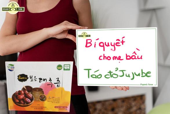 Táo đỏ khô Jujube Hàn Quốc chính hãng ngon và bổ dưỡng - Ảnh 2.