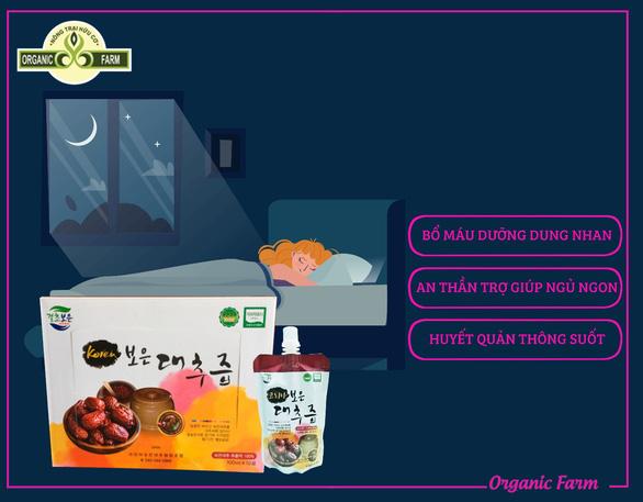 Táo đỏ khô Jujube Hàn Quốc chính hãng ngon và bổ dưỡng - Ảnh 3.