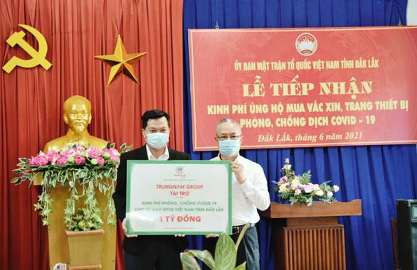 Trungnam Group: Luôn chia sẻ với cộng đồng, ủng hộ hàng chục tỉ đồng chống dịch - Ảnh 2.