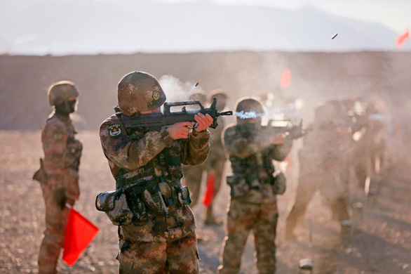 Vụ AUKUS: Báo Trung Quốc cảnh báo chiến tranh hạt nhân với Úc - Ảnh 1.