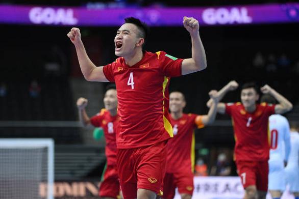 Tuyển futsal Việt Nam xác lập kỳ tích châu Á ở World Cup - Ảnh 1.