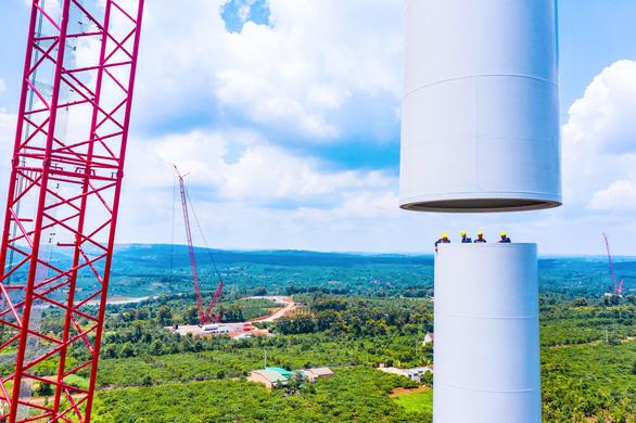 Nhà đầu tư điện gió than khó khi chính sách COD điện gió thay đổi - Ảnh 1.