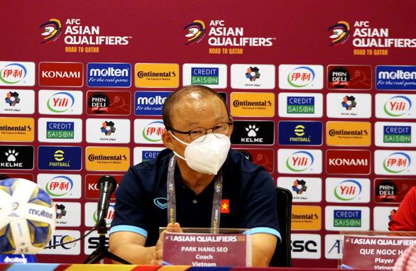 HLV Park Hang Seo: Đội tuyển Việt Nam sẽ nỗ lực để mang về niềm vui trong ngày Quốc khánh 2-9 - Ảnh 1.