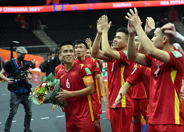 Futsal Việt Nam gặp Nga ở vòng 16 đội World Cup 2021 - Ảnh 1.