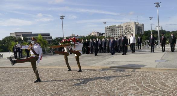 Chủ tịch nước Nguyễn Xuân Phúc: Việt Nam - Cuba đoàn kết, nhất định thắng - Ảnh 9.