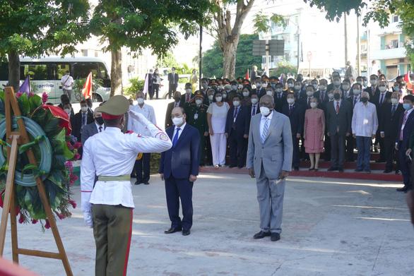 Chủ tịch nước Nguyễn Xuân Phúc: Việt Nam - Cuba đoàn kết, nhất định thắng - Ảnh 8.