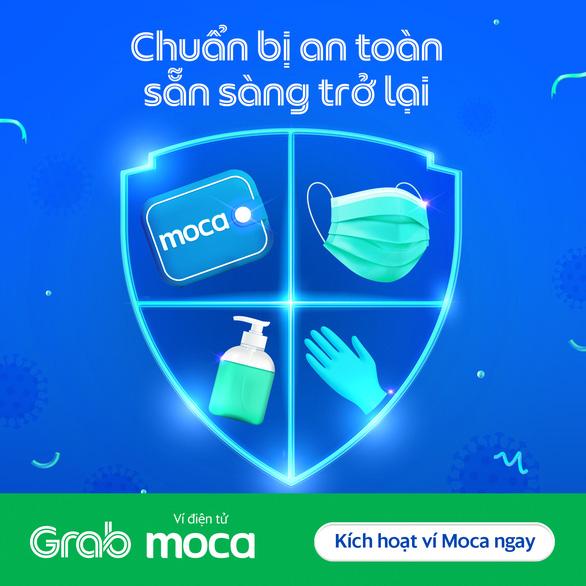 Hỏi - đáp: Ví điện tử Moca trên ứng dụng Grab là gì? - Ảnh 1.