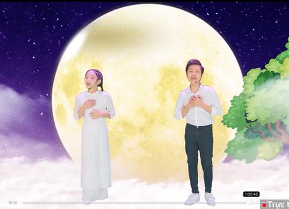 Quán quân, á quân The Voice Kids lên sóng Đêm hội trăng rằm trực tuyến - Ảnh 3.