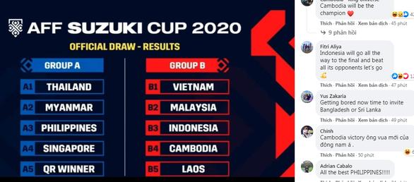 Cổ động viên đối thủ tuyên bố sẽ hạ bệ Việt Nam ở AFF Cup 2020 - Ảnh 1.
