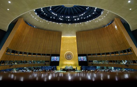 Tại Liên Hiệp Quốc, ông Biden phản đối nước mạnh lấn át nước yếu - Ảnh 2.