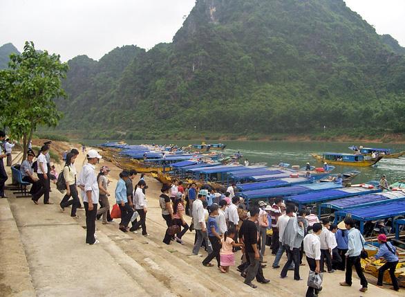 Phong Nha - Kẻ Bàng báo cáo UNESCO các dự án xây dựng và loài xâm hại được khuyến nghị - Ảnh 1.
