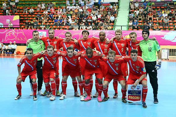 Futsal Nga và câu chuyện nhập tịch cầu thủ Brazil - Ảnh 1.