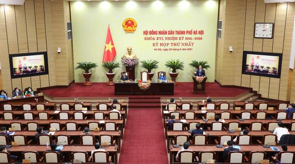 Kỳ họp thứ 2 HĐND TP Hà Nội: Xem xét hỗ trợ học phí cho học sinh ảnh hưởng dịch COVID-19 - Ảnh 1.