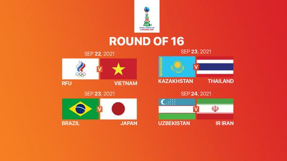 Cả 5 đội tuyển châu Á đều giành quyền đi tiếp ở World Cup futsal 2021 - Ảnh 3.