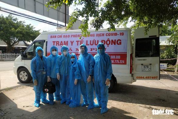 An Giang: Biến 156 xe cứu thương thành trạm y tế lưu động phòng chống dịch - Ảnh 1.