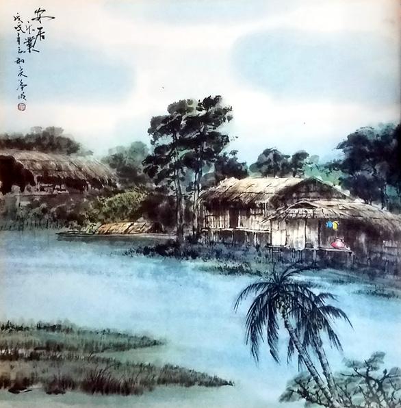 Họa sĩ thủy mặc Trương Hán Minh qua đời - Ảnh 5.