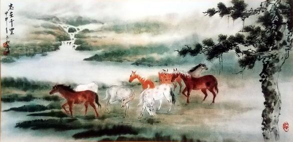 Họa sĩ thủy mặc Trương Hán Minh qua đời - Ảnh 3.