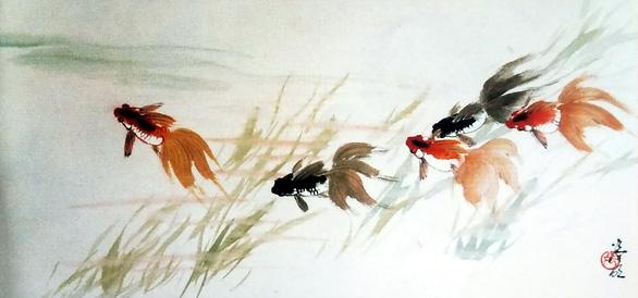 Họa sĩ thủy mặc Trương Hán Minh qua đời - Ảnh 7.