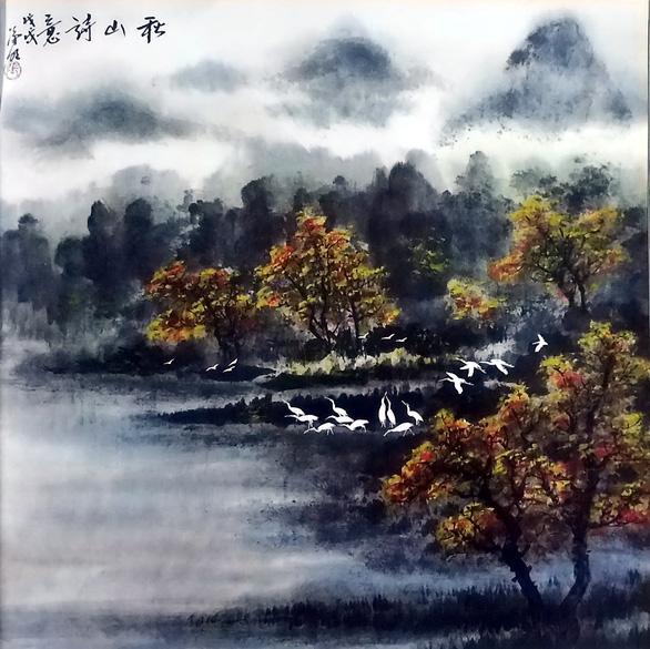 Họa sĩ thủy mặc Trương Hán Minh qua đời - Ảnh 6.