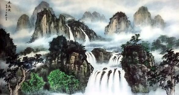 Họa sĩ thủy mặc Trương Hán Minh qua đời - Ảnh 8.