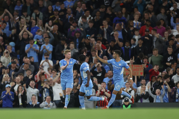 Man City và Liverpool dễ dàng vào vòng 4 Cúp Liên đoàn - Ảnh 2.