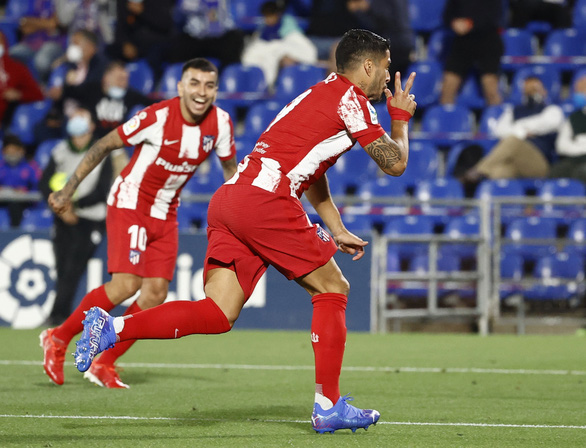 Suarez tỏa sáng, Atletico Madrid thắng ngược Getafe ở phút bù giờ - Ảnh 3.