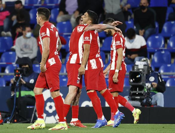 Suarez tỏa sáng, Atletico Madrid thắng ngược Getafe ở phút bù giờ - Ảnh 2.