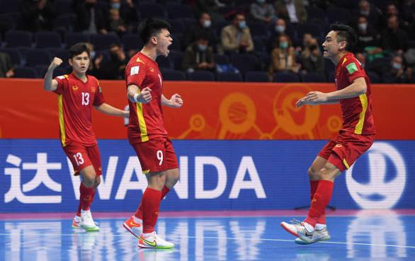 Thua á quân thế giới 1 bàn, futsal Việt Nam dừng bước ở World Cup 2021 - Ảnh 1.