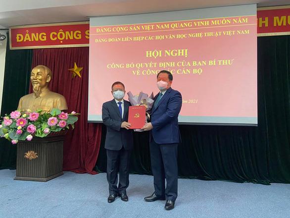 Nhạc sĩ Đỗ Hồng Quân giữ chức chủ tịch Liên hiệp các hội văn học nghệ thuật Việt Nam - Ảnh 1.