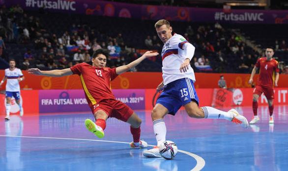 Thua á quân thế giới 1 bàn, futsal Việt Nam dừng bước ở World Cup 2021 - Ảnh 2.