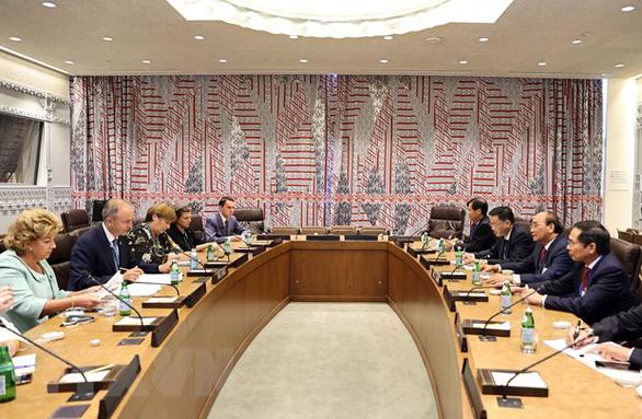 Chủ tịch nước có nhiều cuộc gặp cấp cao, đề nghị WB tư vấn cho Việt Nam - Ảnh 1.