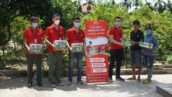 J&T Express nối dài hành trình hỗ trợ tiêu thụ nông sản Việt - Ảnh 1.