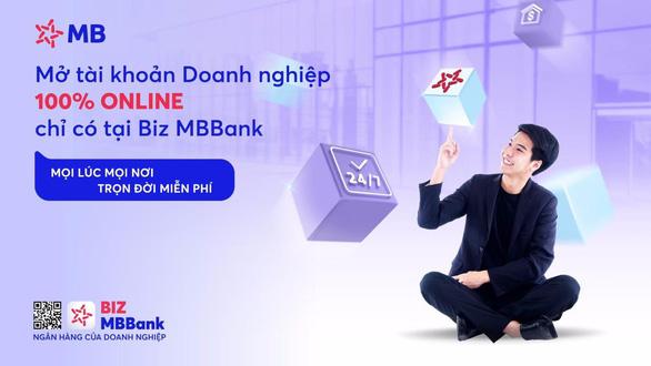 Giải pháp Ngân hàng số toàn diện hàng đầu dành cho doanh nghiệp: BIZ MBBank - Ảnh 1.