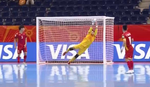 Thua á quân thế giới 1 bàn, futsal Việt Nam dừng bước ở World Cup 2021 - Ảnh 3.