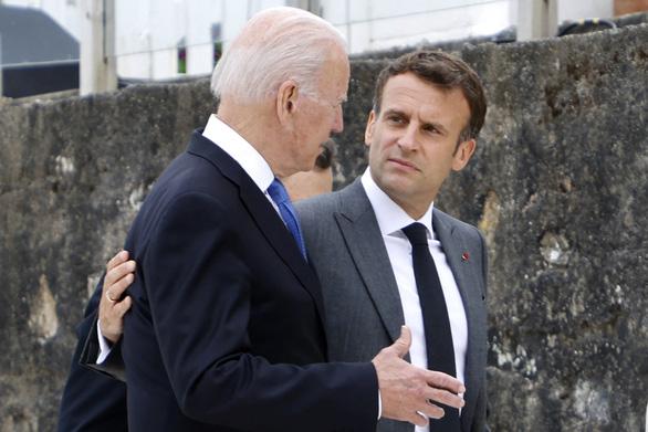 Vì sao Pháp muốn làm hòa với Mỹ nhưng phớt lờ Úc, Anh? - Ảnh 1.